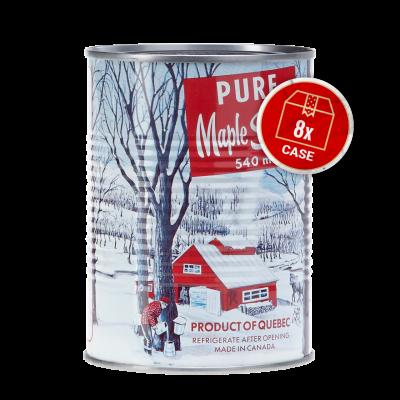 Canne (540 ml)  - Doré -  8 X  (boite de un gallon)